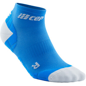 cep Ultralight Krótkie skarpetki Kobiety, electric blue/light grey